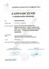 Welding Institute Training Certificate