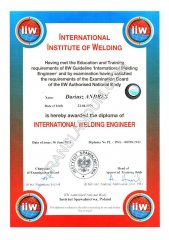 International Welding Engineer Diploma